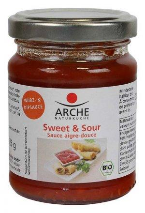 Sweet & Sour Würz- und Dipsauce - Arche - Bio - 125g