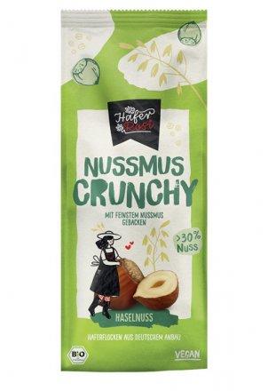 Nussmus-Crunchy Haselnuss - HaferRosi - Rosengarten - Bio - 350g