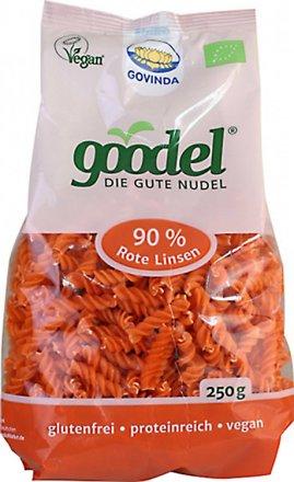 Goodel Spirellis - Nudeln aus roten Linsen