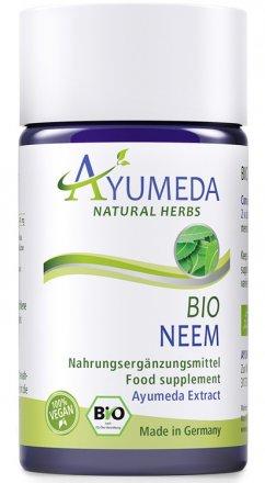 Konzentrierter Bio-Neem-Extrakt in Kapseln