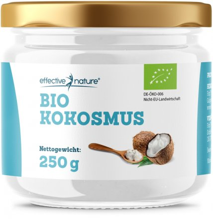 Kokosmus effective nature - Bio - 200g