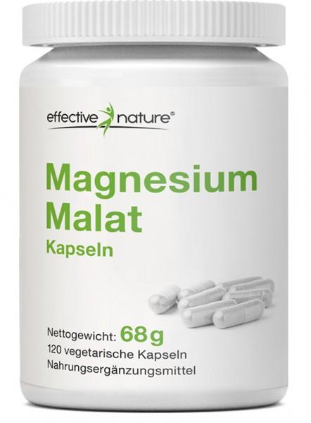 Magnesiummalat Kapseln - 120 Stk. - 68g