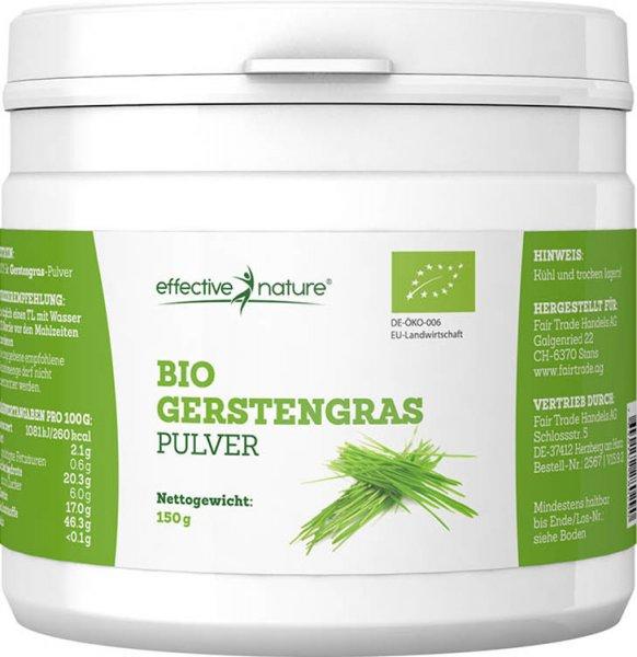 Gerstengras Pulver - Bio - 150g