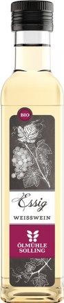 Hochwertiger Weissweinessig aus traditioneller Herstellung