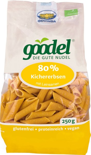 Goodel - Penne Kichererbse-Leinsaat - Bio - 250g
