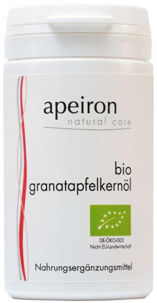 Granatapfelkernöl in Kapseln - Bio - 60 Stk. - 41,5g