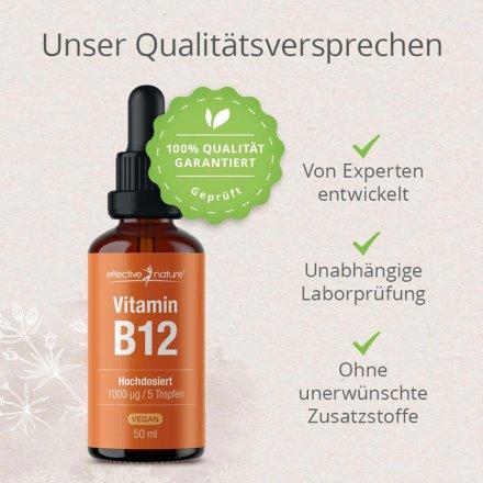 Vitamin B12 Tropfen – hochdosiert & vegan