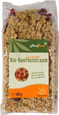 Knuspermüesli-Hanfnusstraum - Bio - 400g
