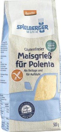 Glutenfreier Polenta Maisgriess - Bio - 500g