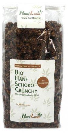 Hanf Schoko Crunchy (Schokotraum) - Bio - 375g