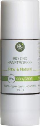 Hanftropfen - 8% CBD - Bio
