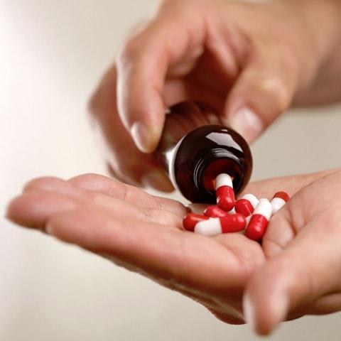 Einnahme von Medikamenten