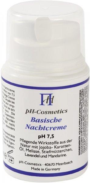 Basische Nachtcreme - pH 7,5 - 50ml