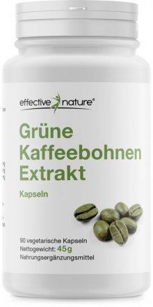 Grüner Kaffeebohnen Extrakt Kapseln - 90 Stk. - 45g