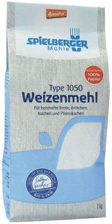 Weizenmehl Type 1050 demeter - Spielberger - Bio - 1000g
