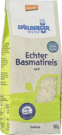 Echter Basmati Reis weiss - Bio - 500g