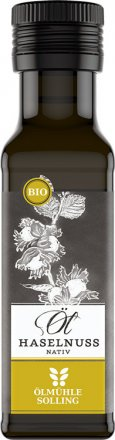 Natives Haselnussöl in Bio-Qualität