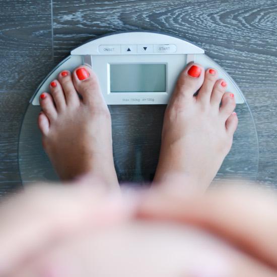 Gewichtszunahme während der Menopause