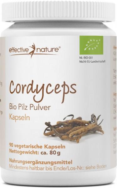 Cordyceps Pilz Kapseln - Bio - 90 Stk. - 80g