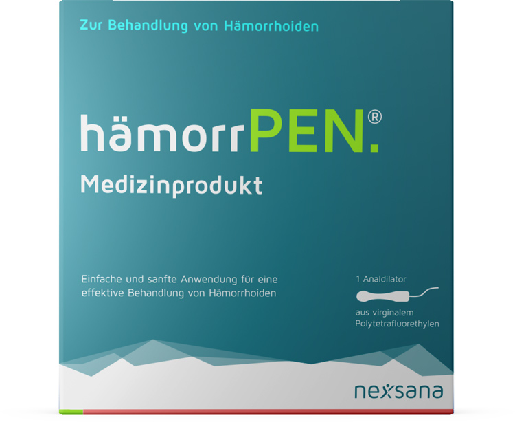 hämorrPEN - Medizinprodukt bei Hämorrhoiden