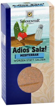 Adios Salz mediterran - Bio - 55g - Sonnentor
