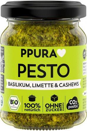 Pesto Basilico - Basilikum, Limette, Cashew