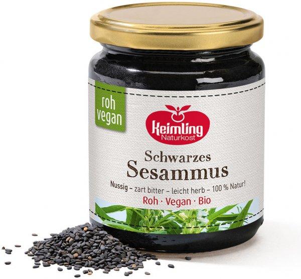 Schwarzes Sesammus - Bio - 250g
