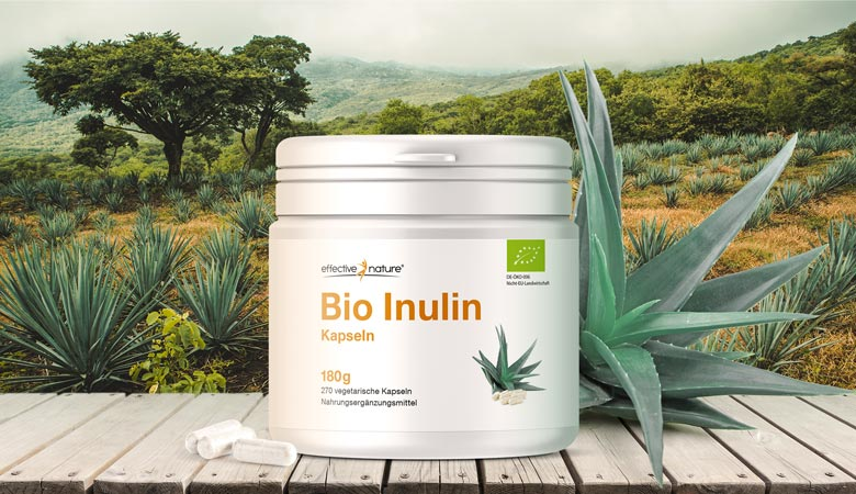 Bio-Inulin in Kapseln