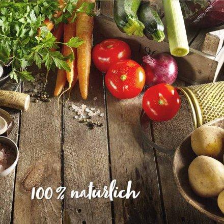 Vegane Karotten Cremesuppe - mit Kokos verfeinert
