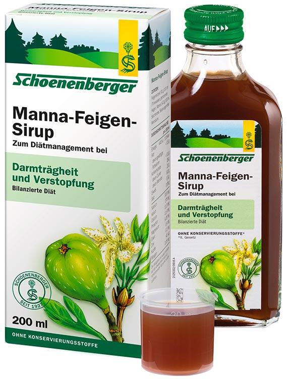 Manna-Feigen-Sirup