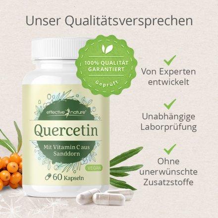 Quercetin mit natürlichem Vitamin C