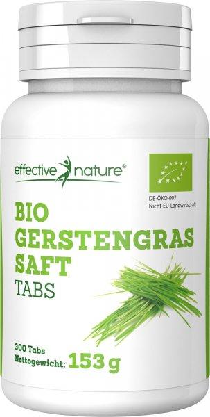Gerstengrassaft Tabletten - Bio - 300 Stk. - 153g
