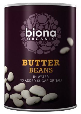 Butter Bohnen - Biona - Bio - 400g