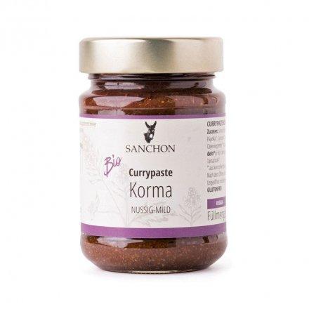 Korma Currypaste - Sanchon - Bio - 190g
