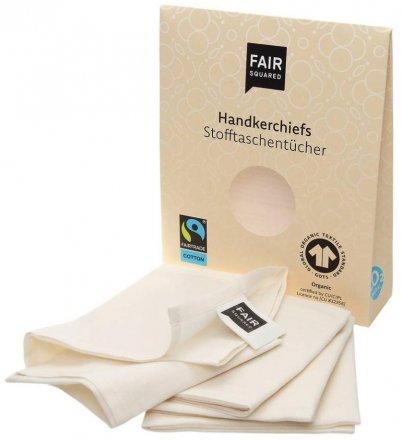 Stofftaschentücher - Fair Squared - 1 x 3 Stk.