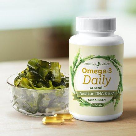 Omega-3 Daily - EPA & DHA Kapseln - 60 Stk