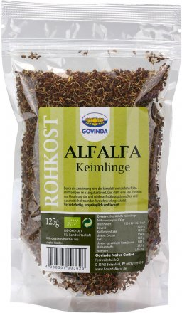 Alfalfa Keimlinge - Bio - 125g