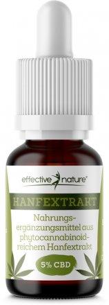 Hanfextrakt - 5% CBD - 10 ml