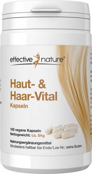 Haut- und Haar-Vital Kapseln - 100 Stk. - 54g