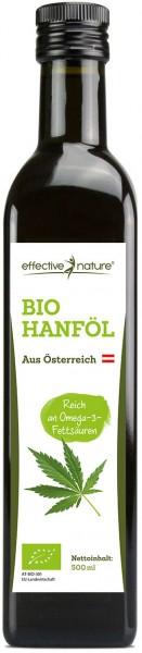 Hanföl aus Österreich - Bio - 500ml