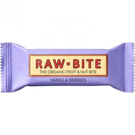 Rawbite Vanilla Berries - Leckerer Bio-Fruchtriegel