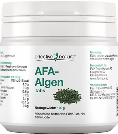 AFA Algen - 400 Tabletten