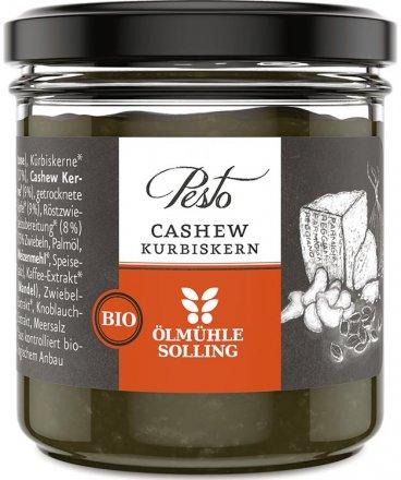 Cashew-Kürbiskern Pesto aus Bio-Zutaten