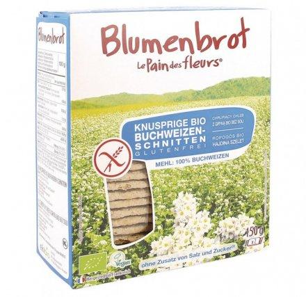 Blumenbrot Buchweizen ohne Salz - Bio - 150g