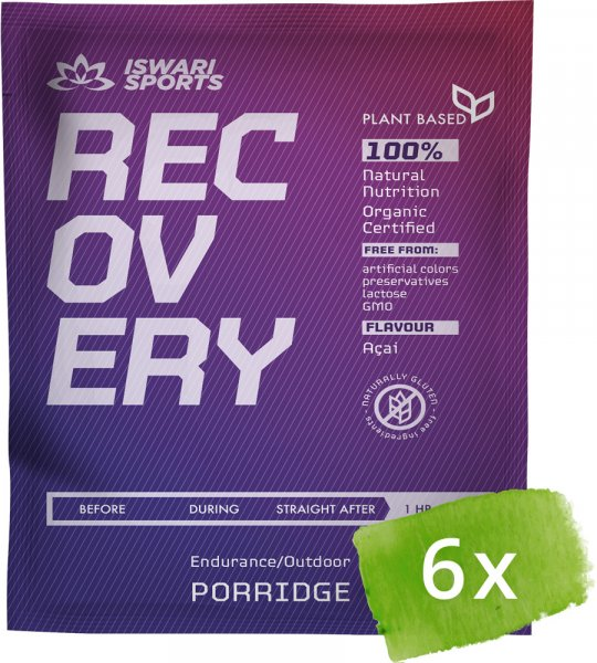 Recovery Porridge 1 HOUR AFTER -Bio
