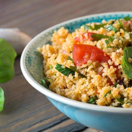 Quinoa Cup mit Bio Kräutern
