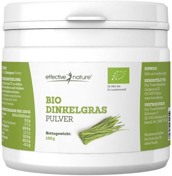 Dinkelgras Pulver - Bio - 150g