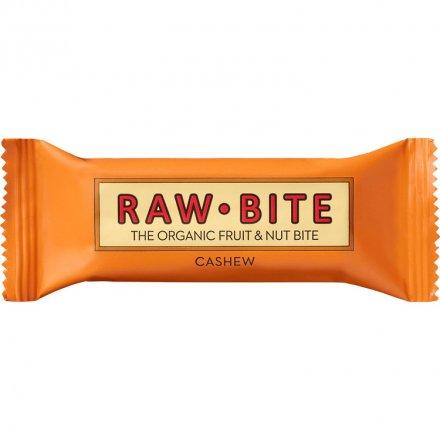 Rawbite Cashew - Herzhafter Bio-Fruchtriegel