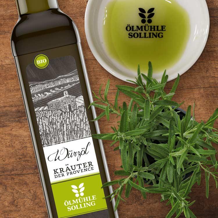Kräuter der Provence Würzöl von Ölmühle Solling