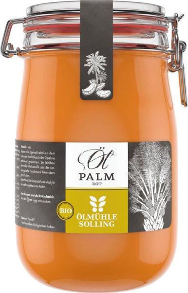 Rotes Palmöl - Bio